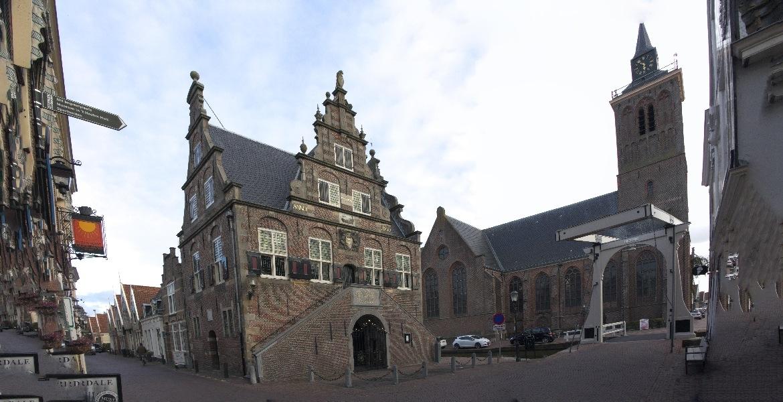 191003-22-De Rijp, raadhuis en Grote Kerk